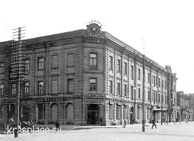 Торговый дом купца И.Г.Гадалова 1910 г