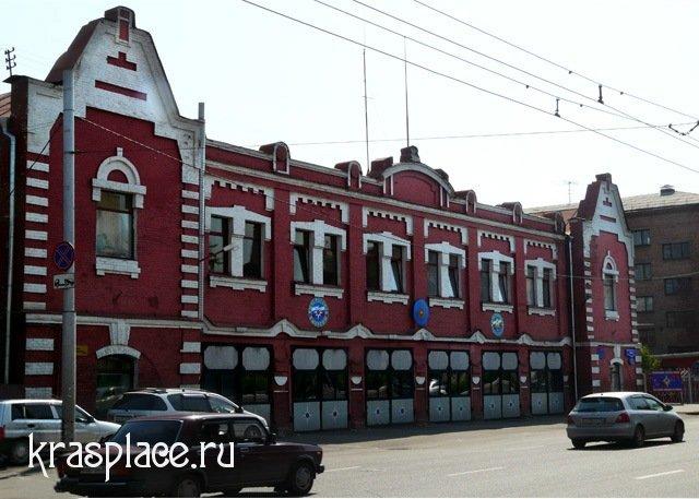 Pozharnoe depo v Krasnojarske v 2009 godu