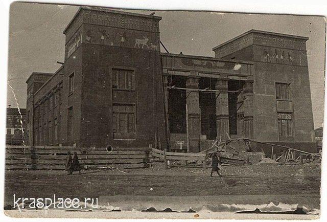 Строительство Красноярского музея