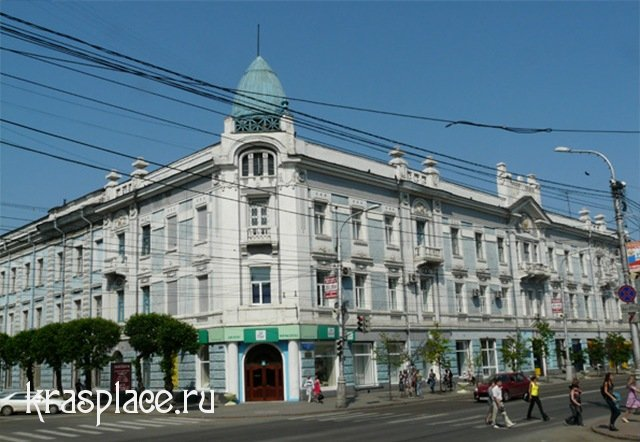 Центр Красоты в бывшем доме купца И.Г.Гадалова 2009 г