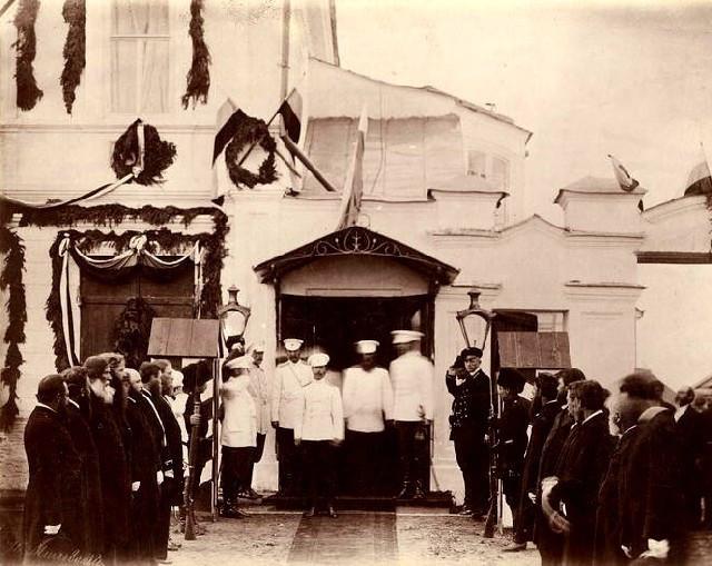Проводы Наследника из города Канска, 29 числа июня 1891-го года в 7-м часу утра