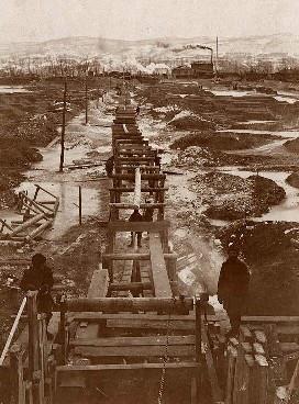 Строительство водопровода в Красноярске