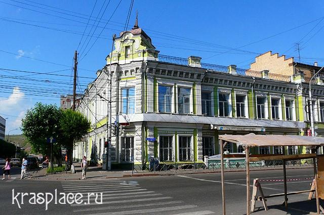 Бывшее здание гостиницы Новая Россия