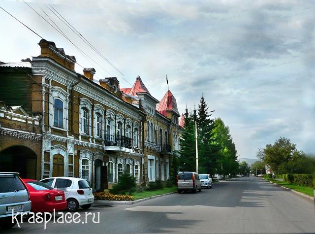 Здание администрации в г.Минусинск