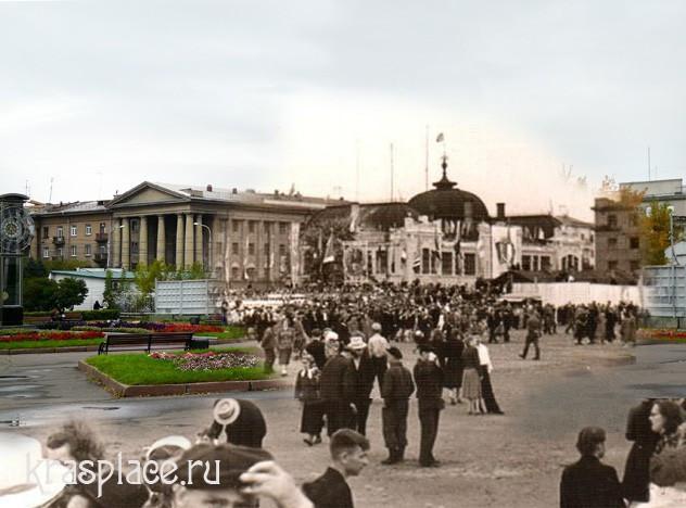 Так могла выглядеть площадь Революции