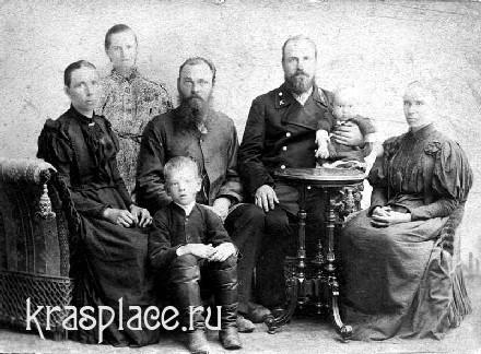 Семья Калнин