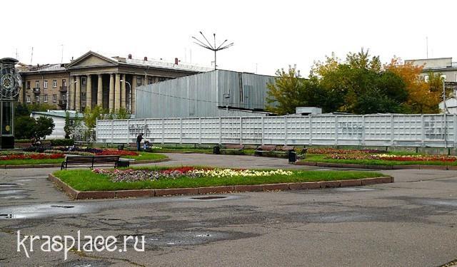 Так выглядит площадь Революции в 2009г