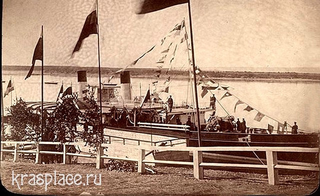 Приезд в Красноярск будущего императора Николая II
