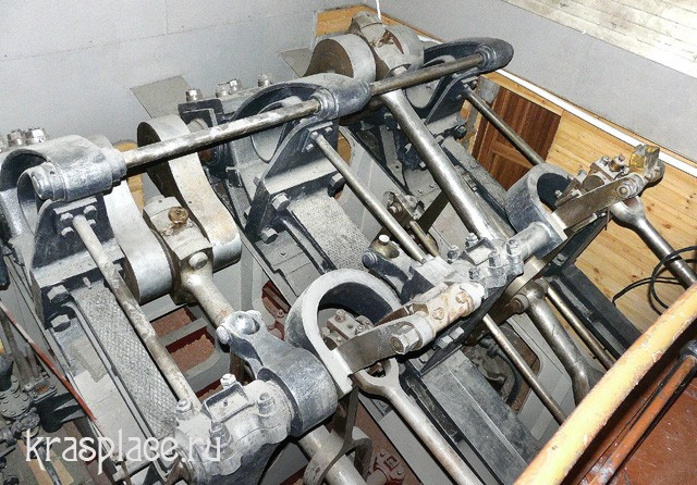 Двигатель парохода