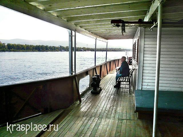 Палуба парохода