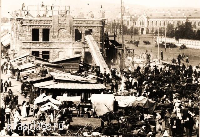 Строительство пассажа 1907 год