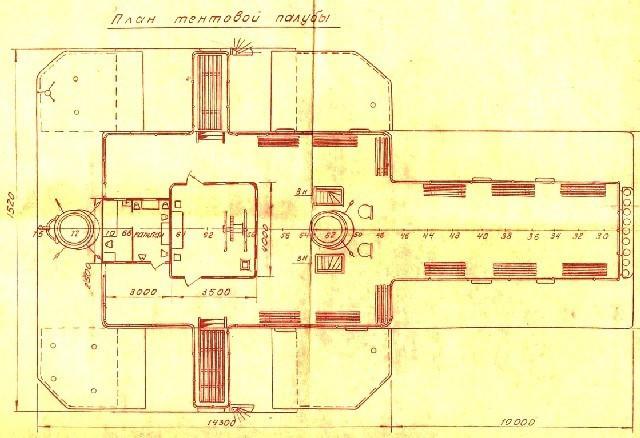 По этим чертежам восстанавливали пароход Св.Николай