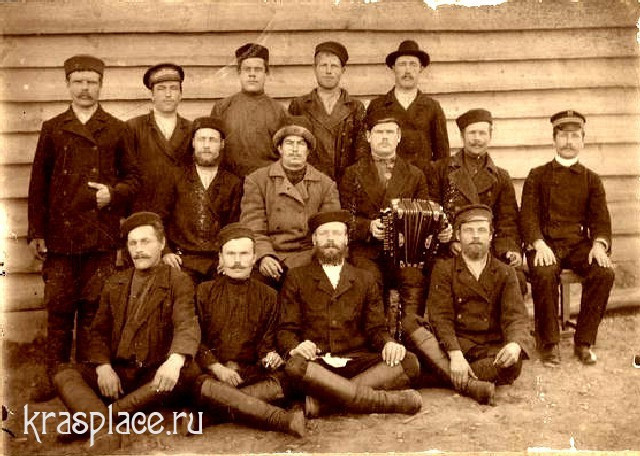 Экипаж парохода Св.Николай 1902 год