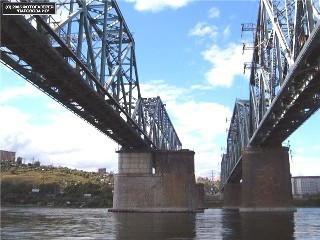 Железнодорожный мост г.Красноярск