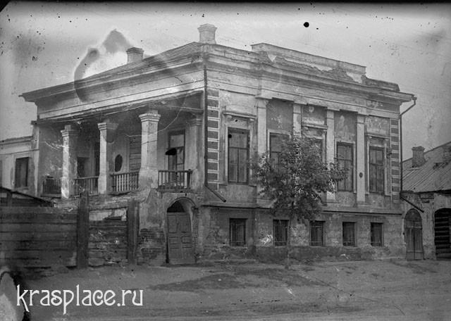 Дом Крутовских до реставрации