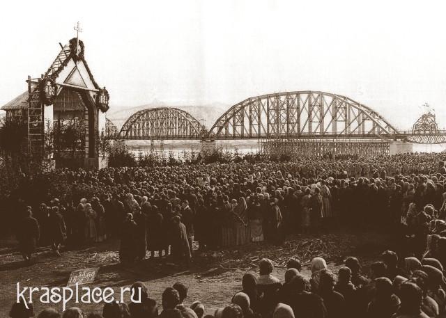 Завершение строительства моста