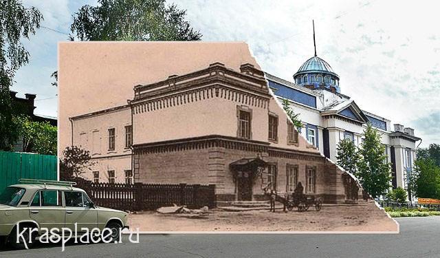 Совмещенная фотография библиотеки