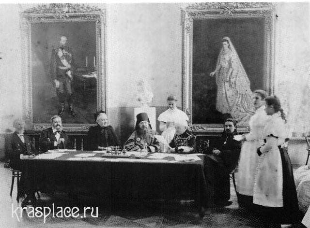 Экзамен в Красноярском Епархиальном женском училище