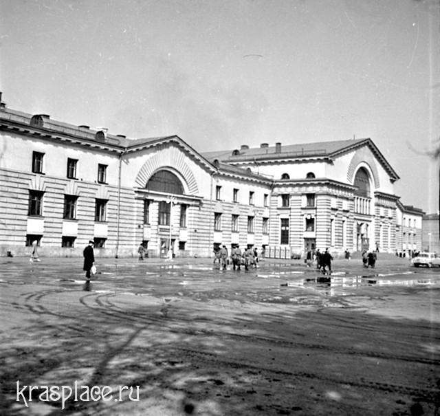 Красноярск. Железнодорожный вокзал. 1963
