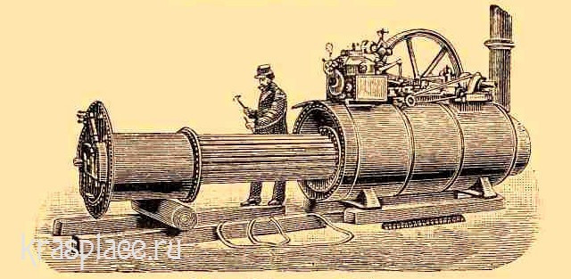 Локомобиль системы Вольфа