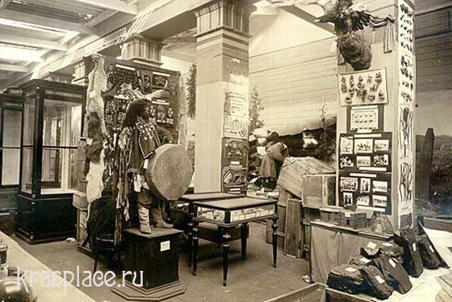 Красноярский музей. Этнографическая экспозиция