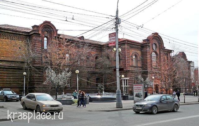 Современная фотография бывшей женской гимназии