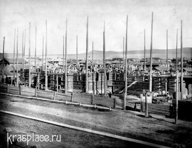 Строительство Красноярской женской гимназии