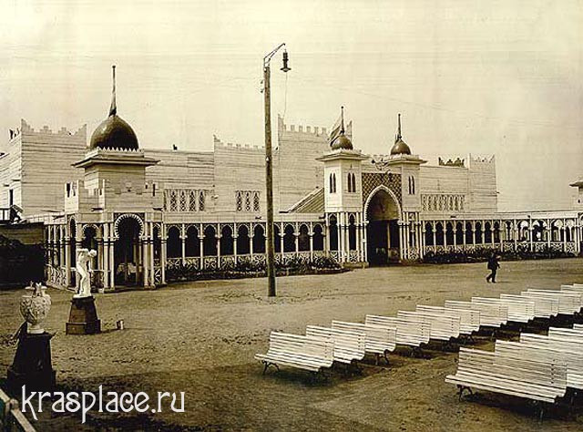 Театр-ресторан выставки. 1911 Архитектор Л. А. Чернышев.
