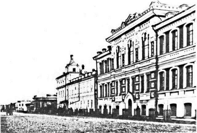 Учебный корпус епархиального училища