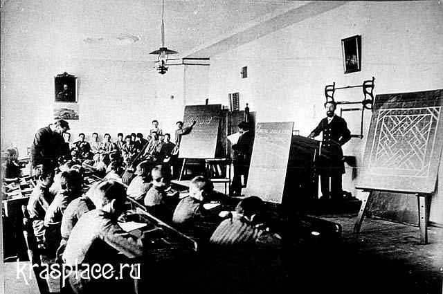 Урок практиканта (студента 3 класса саминарии) 29 сентября 1895