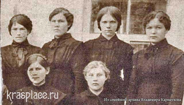 Выпускницы Епархиального училища. 9 июня 1915 г
