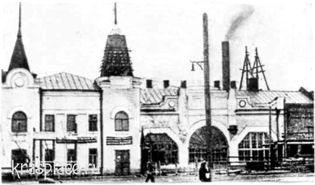 Здание водопроводно-электрической станции