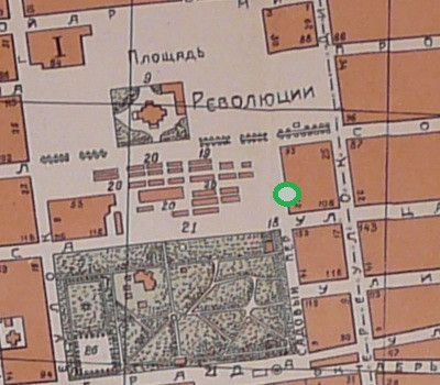 Фрагмент карты 1924 года