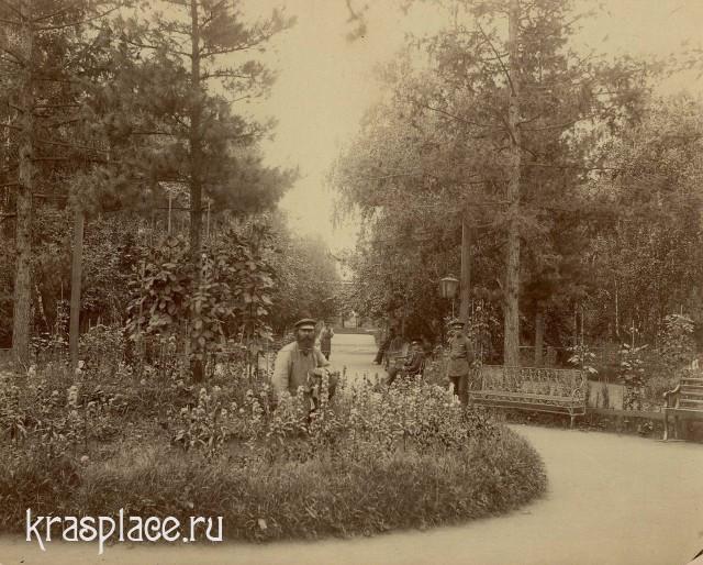 Главная аллея. 1890 год