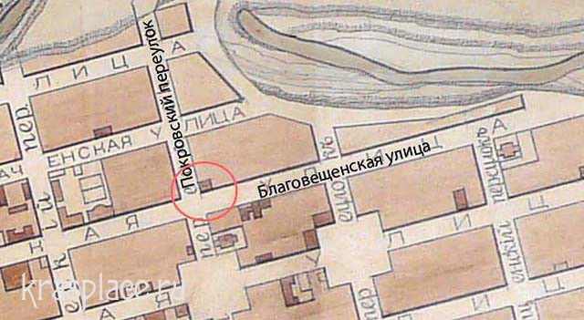 Карта 1894 г.