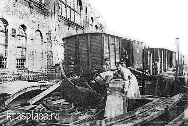 Субботник 1923 в главных мастерских