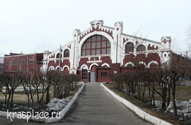 Современное здание железнодорожных мастерских