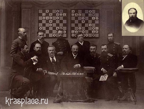 Члены шахматного клуба Красноярска