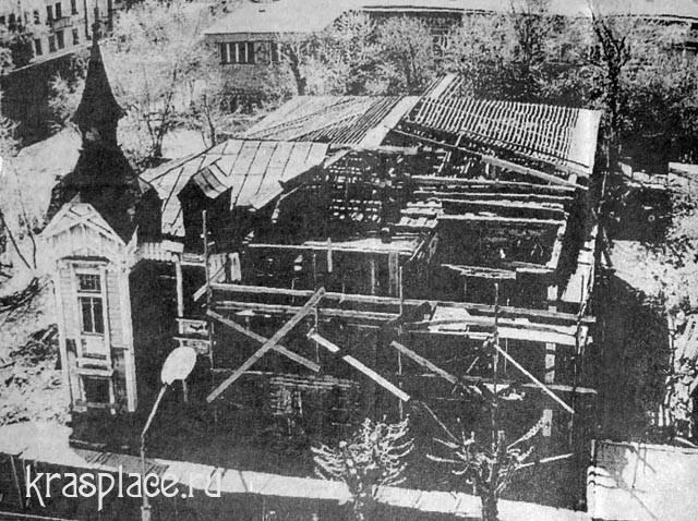 Дом Дмитриева реконструкция