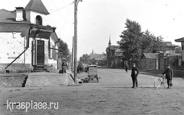 Дом Дмитриева сто лет назад