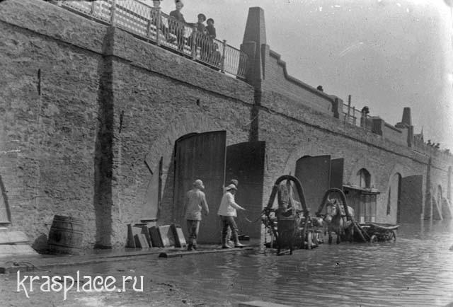 Наводнение в Краноярске 1916 год
