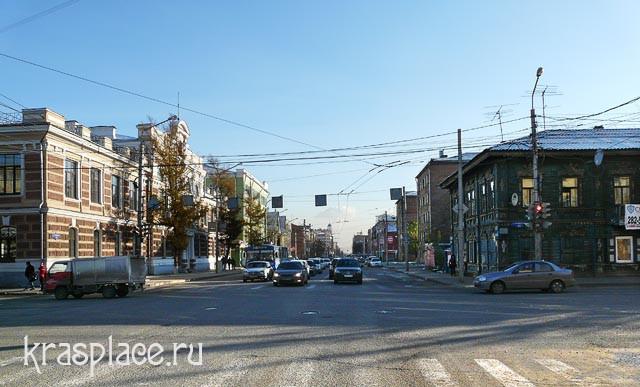Современная фотография Благовещенской улицы