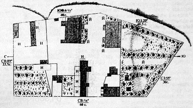 План Д.Т.Захрямина 1907 года