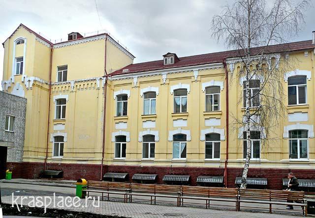 Дорожная клиническая больница на ст Красноярск 2011г