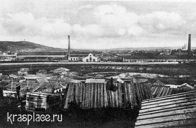 Николаевка. Вид на ЖД мастерские
