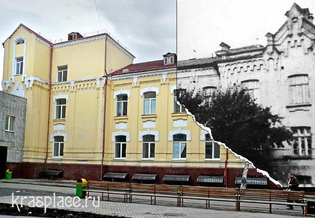 Совмещенная фотография 1906-2011гг