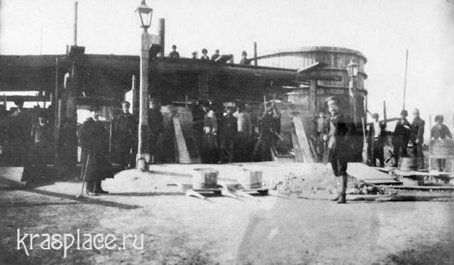 Строительство противопожарных резервуаров в Николаевской слободе