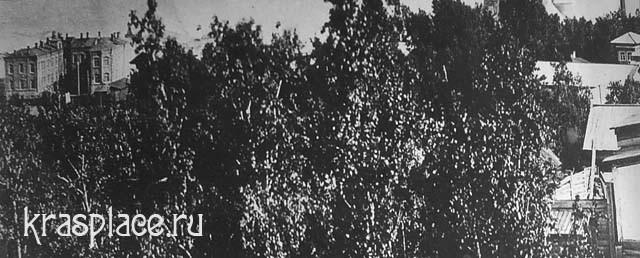 ЖД больница на ст Красноярск 1926 г