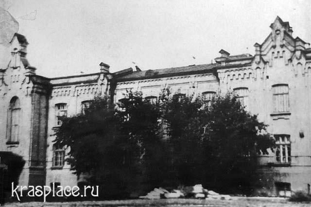 ЖД больница на ст Красноярск. Начало ХХ века