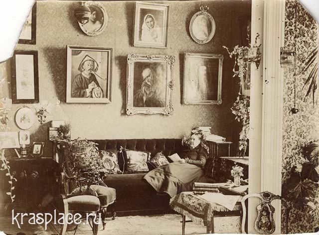 Часть гостиной в доме Евдокии Петровны Кузнецовой